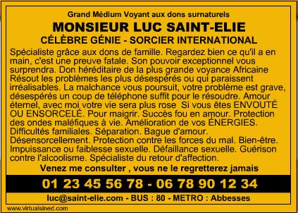 Marabout Luc Saint-Elie